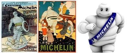 미쉐린의 비벤덤 초기와 현재(guide.michelin.com)