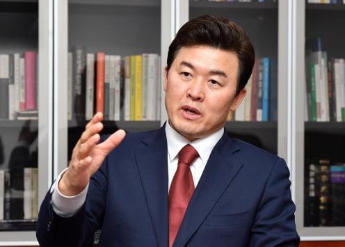 국회 윤영석 국민의힘 당대표 후보 인터뷰 /김병언 기자