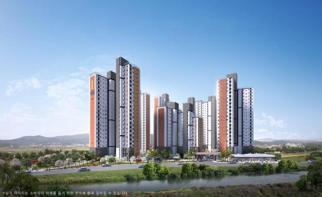 한국토지신탁, 비규제지역 '이천 진암지구 우방 아이유쉘 메가하이브' 413가구 공급