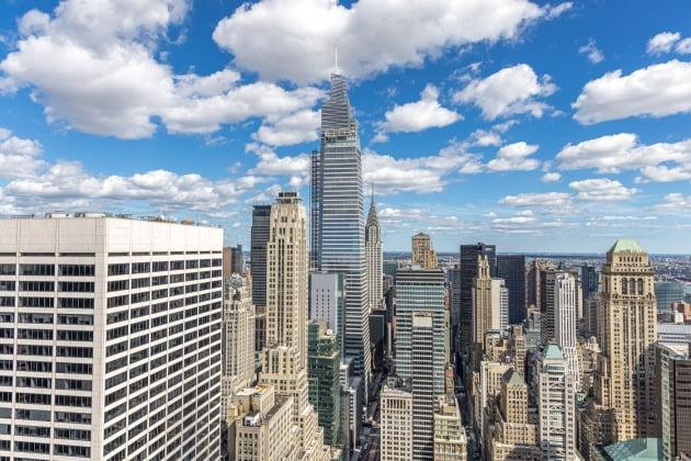 원 밴더빌트 빌딩이 우뚝 솟아있다. /사진=6sqft