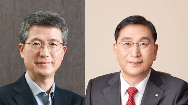 (왼쪽부터)삼성물산 오세철 대표와 현대건설 윤영준 대표/ 자료=각사 제공