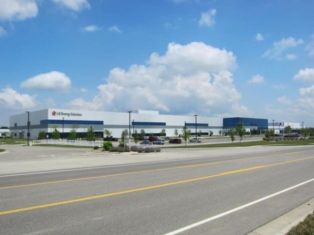 미국 미시건주에 있는 LG에너지솔루션 공장 전경. LG에너지솔루션 제공.