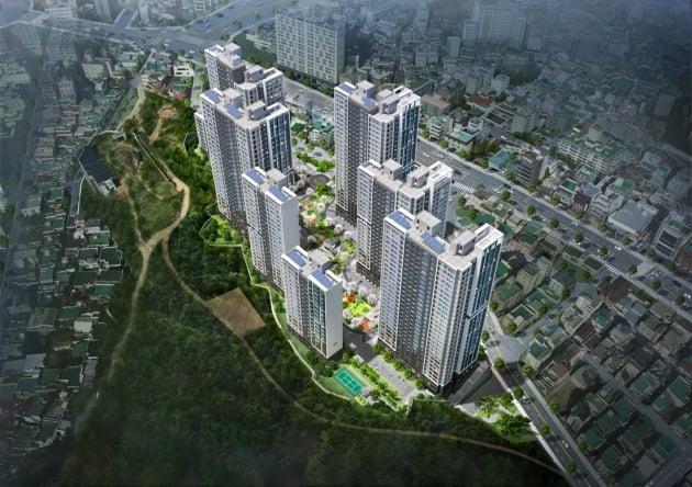 코오롱글로벌, 다음달 부산 '초읍 하늘채 포레스원' 499가구 공급