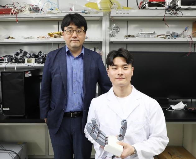 DGIST, 사람 손처럼 정교한 인간형 로봇핸드 핵심 기술 개발