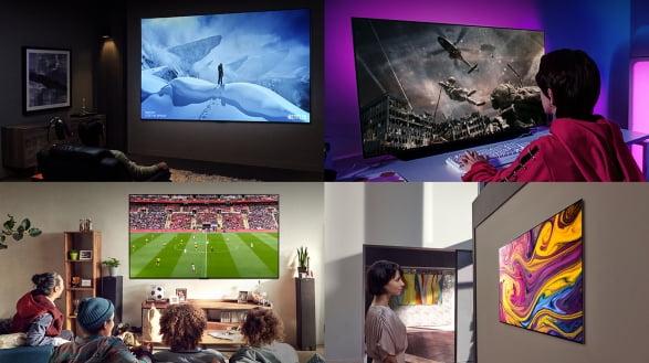 LG전자는 2020년부터 '4S'를 올레드 TV 마케팅의 새로운 축으로 내세우고 있다.