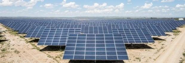OCI가 건설한 美 텍사스 태양광 발전소