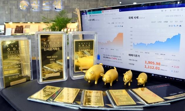 암호화폐는 급락…금값은 올해 최고치 경신