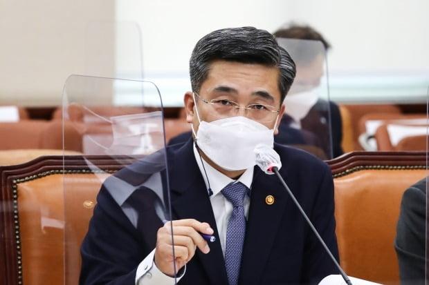 서욱 국방부 장관. 사진=연합뉴스
