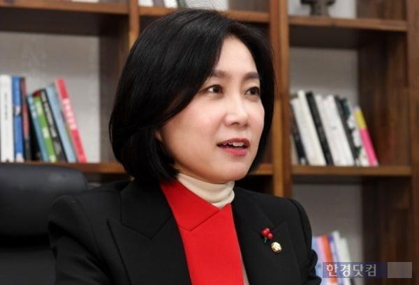 허은아 국민의힘 의원. /사진=최혁 한경닷컴 기자 chokob@hankyung.com