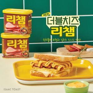 동원F&B,  이삭토스트와 두 번째 콜라보  '더블치즈 리챔' 출시