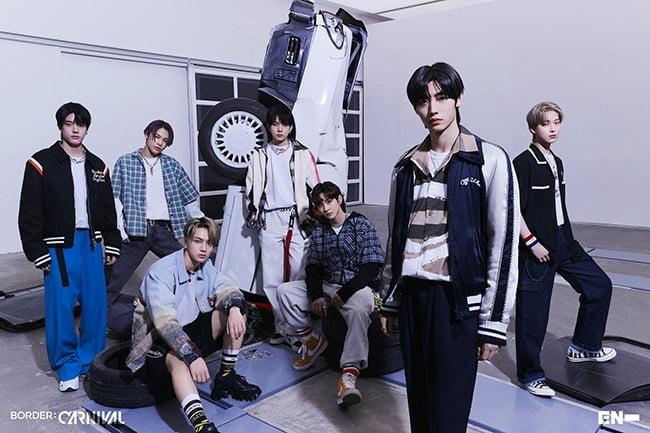 ENHYPEN, 주간 앨범 차트 1위 & 실시간 음원 차트 1위 달성