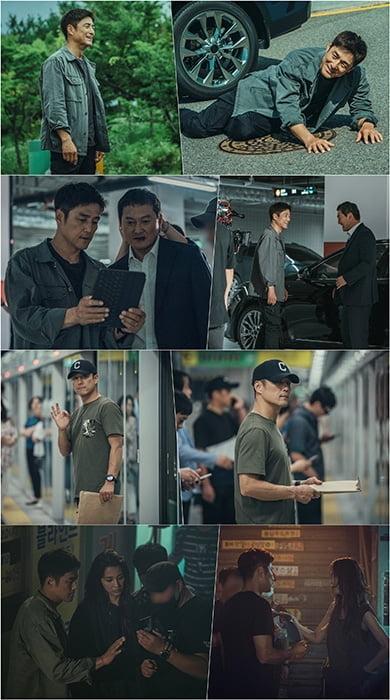 '언더커버' 지진희, 액션 본능 발산 비하인드 컷 공개
