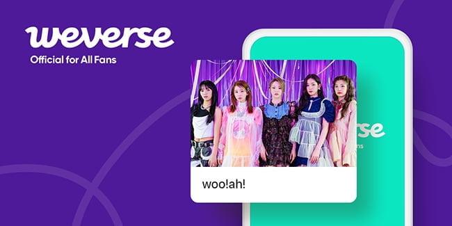 woo!ah!(우아!), 컴백 앞두고 위버스 합류…전 세계 K팝 팬들과 소통