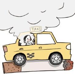 [생활속의 건강이야기] 차에 혼자 있을 때도 금연을