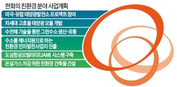 """'5조원 실탄' 장전…김동관 """"한화의 미래, 그린에너지에 걸겠다"""""""