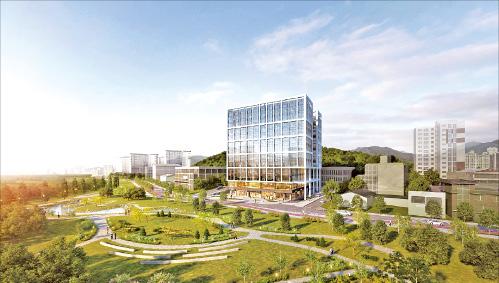 마곡 지식산업센터, 롯데건설 첫 지식산업센터