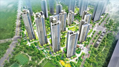시티오씨엘 1단지, 인천 대표 명품복합도시