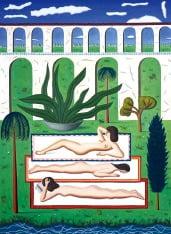 [그림이 있는 아침] 어딘가 친숙한 일광욕 풍경…조너선 가드너 'Sunbathers'