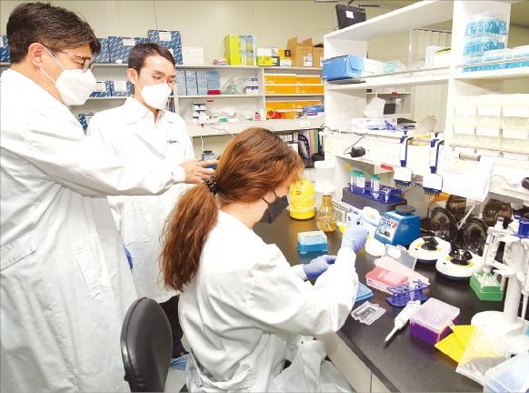 KT는 엔젠바이오와 유전자 정보 분석 기반 맞춤형 디지털 헬스케어 서비스를 공동 개발하고 있다. /KT 제공