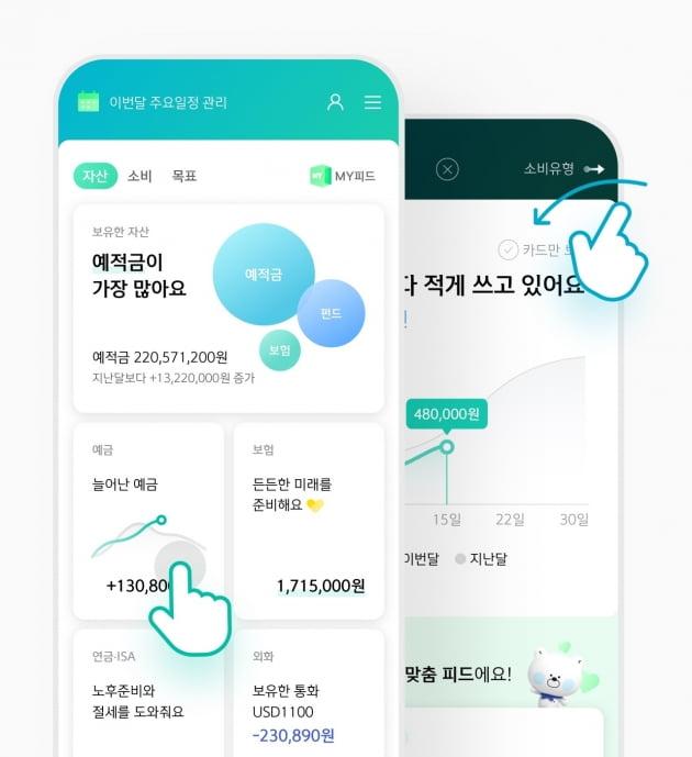 신한은행, 맞춤형 자산관리 플랫폼 'MY 자산' 리뉴얼