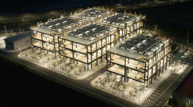 (사진) 두산퓨얼셀의 대산 수소 연료 전지 발전소. /두산 제공