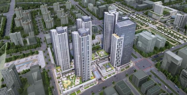 대방건설의 동탄2신도시 동탄역 디에트르 퍼스티지 조감도. 출처: 대방건설