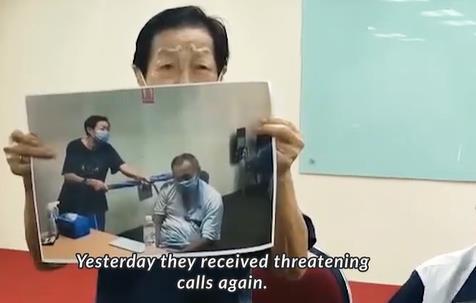 """60대 아들 우산으로 때린 89세 말레이 노모…""""도박중독에 지쳐"""""""