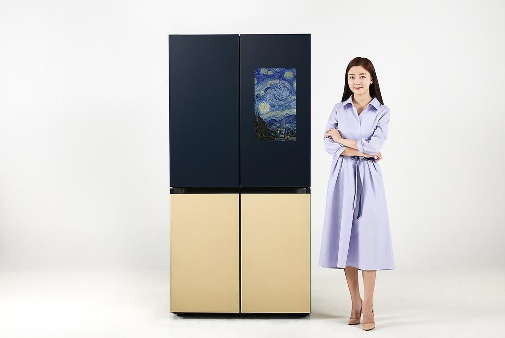 삼성, 식자재 자동 인식하는 비스포크 냉장고 신제품 출시