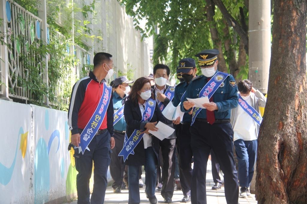 경찰, 조두순 주거지 인근 초교 통학환경 개선 캠페인