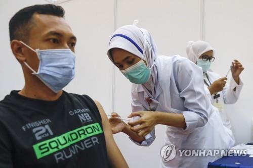 말레이, AZ백신 접종 노쇼 잇따르자 선택접종으로 변경