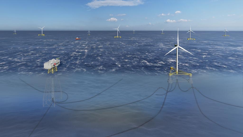 석유공사 '동해 부유식 해상풍력 사업' 예비타당성 통과