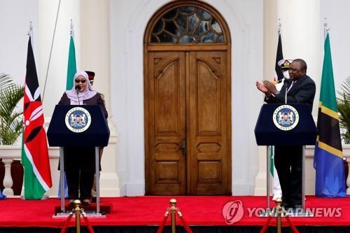케냐-탄자니아, 코로나19로 소원했던 관계 정상화 합의