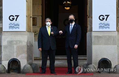 "G7 외교장관 ""팬데믹 이후 재건에 인도태평양과 협력 중요"""