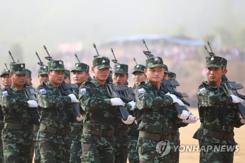 """카렌 반군 """"한달간 미얀마군 200명 사살…통합정부 지지 증명"""""""