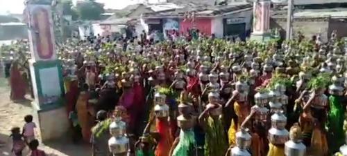 '끝 모를 최악 행진' 인도서 또 노마스크 인파 종교행사(종합)