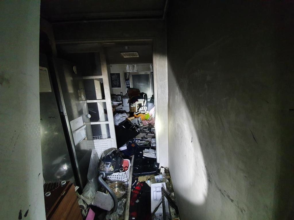 충남 천안 아파트서 방화추정 불…40대 여성 중상