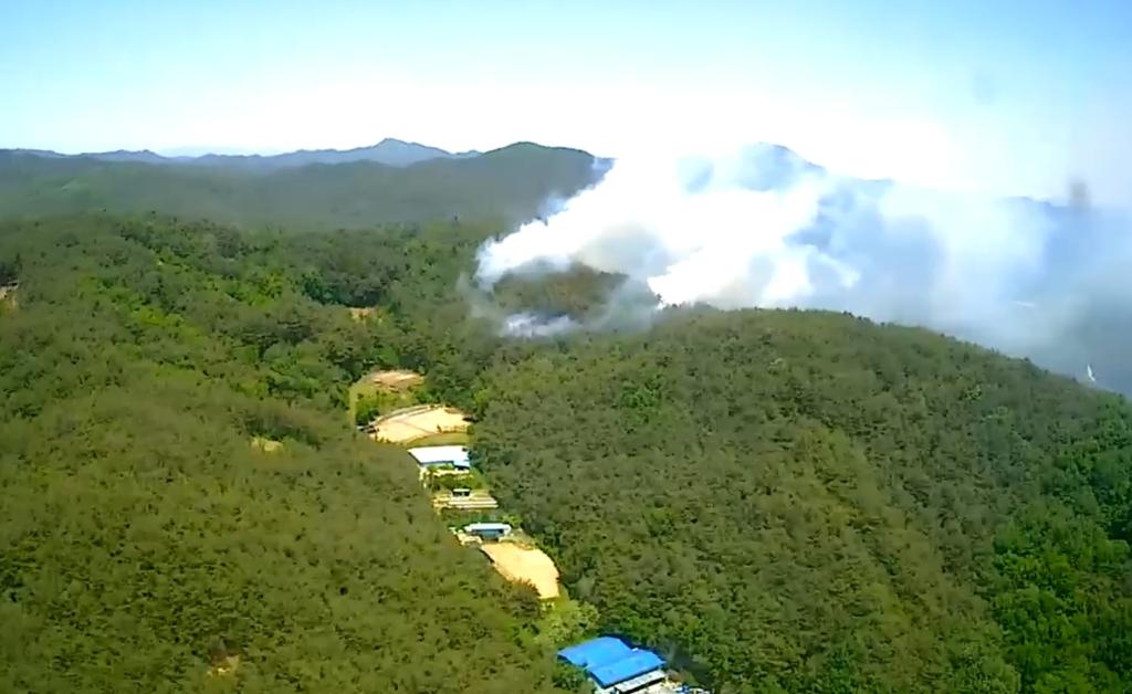 경북 고령 산불 2시간 30분 만에 진화…산림 1.4㏊ 피해