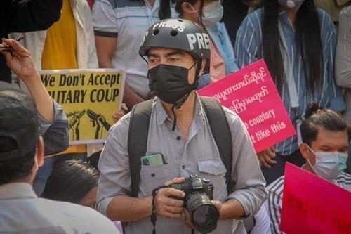 """미얀마 기자 3년형, 日언론인은 석방…""""日과 우호 관계 고려"""""""