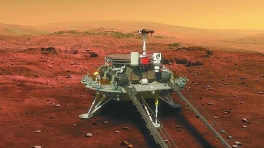 중국탐사선 10개월 여정끝 화성착륙 성공…우주강국 꿈 이뤘다(종합)
