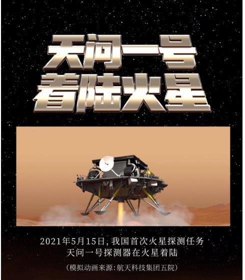 중국 탐사선 첫 화성착륙 성공…'우주굴기' 가속·미국 추격(종합2보)