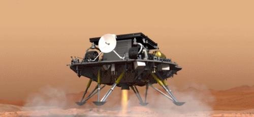 러시아 우주공사, 중국 탐사선 화성 착륙 축하