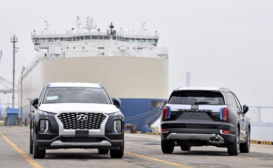 현대차, 콩고에 팰리세이드 500대 수출…아프리카 신시장 개척