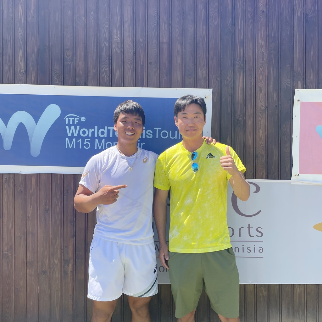 정윤성, 국제테니스연맹 튀니지 대회 남자 단식 우승