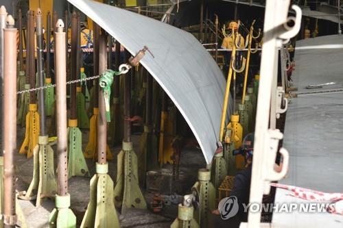 노동부, '산재다발' 현대重 본사·현장 특별감독…제조업 첫사례