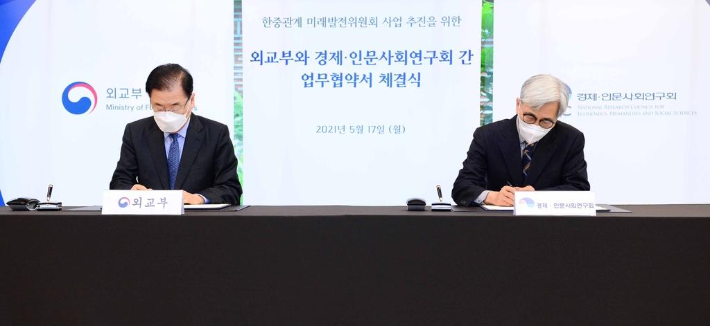 한중관계 미래발전위 한국 사무국에 경제인문사회硏 지정