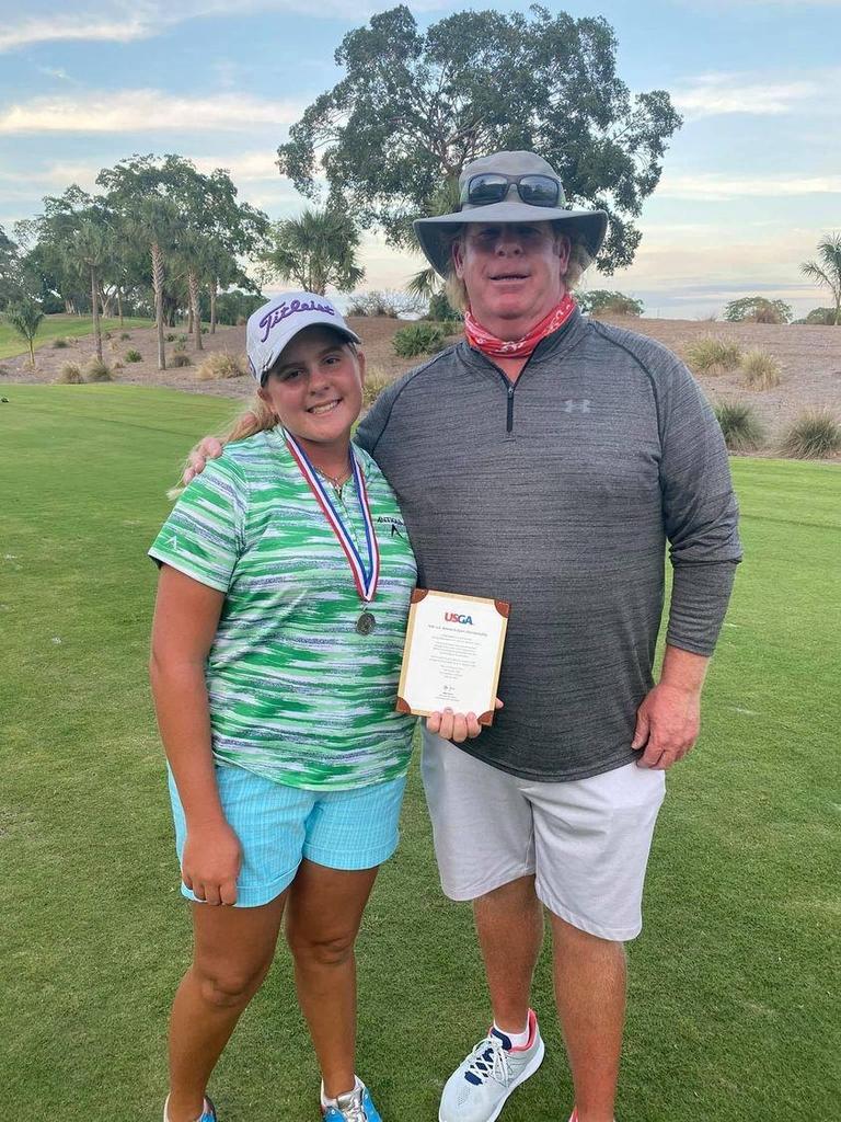 290야드 날리는 14세 소녀, US여자오픈 골프대회 출전권 땄다