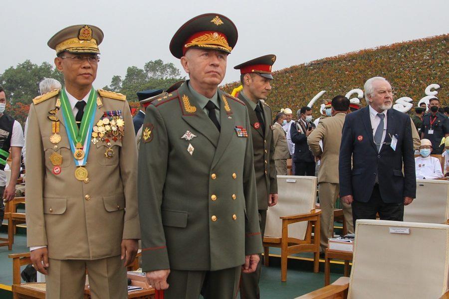 '유혈진압' 미얀마 군부, 유엔 제재 논의에도 러 무기 구매 추진