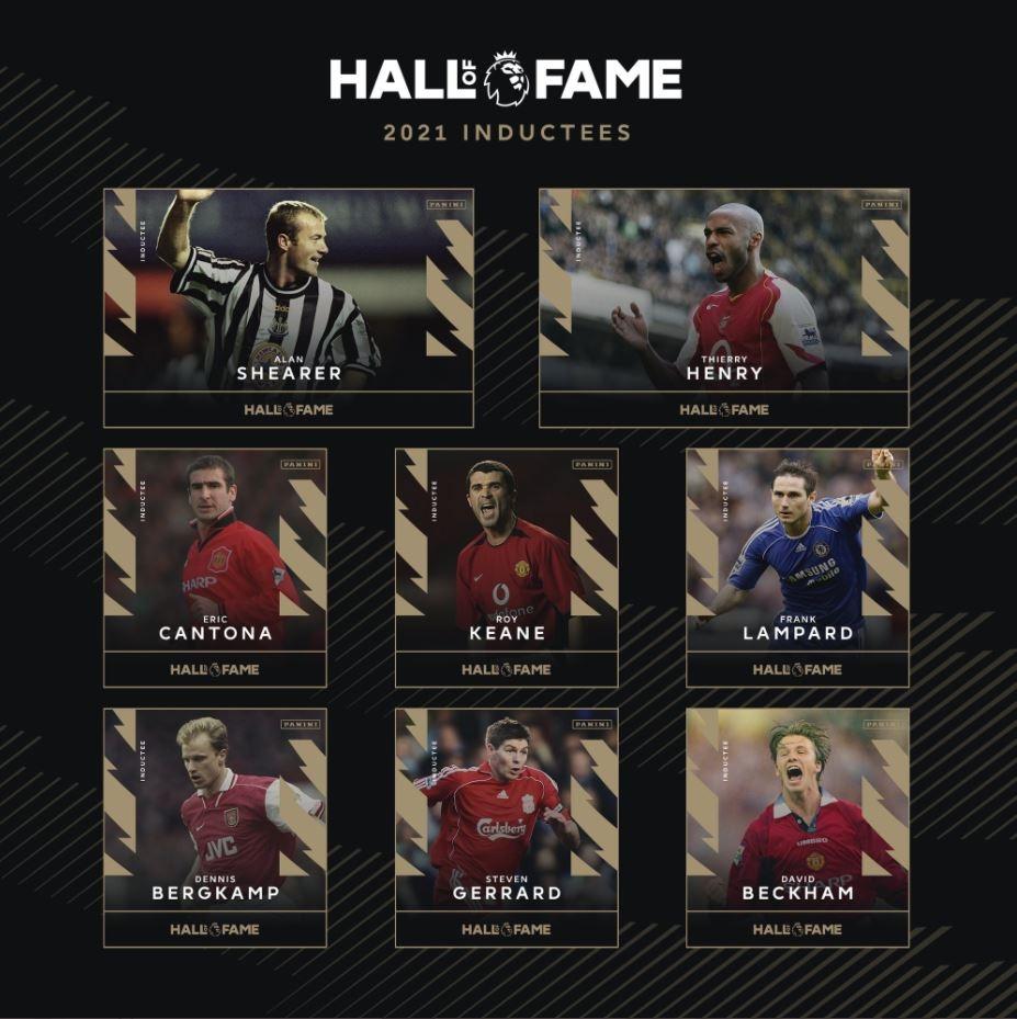 베컴·제라드, EPL '명예의 전당' 입성…2021 헌액자 8명 확정