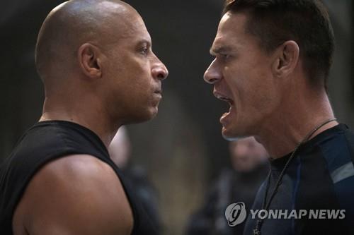 '분노의 질주', 중국시장 등에 업고 코로나 후 첫주 최고 흥행
