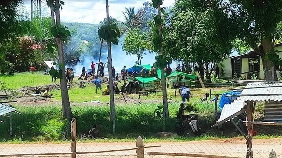 대담해지는 미얀마 시민군…경찰서 태우고 군경 수십 명 사살